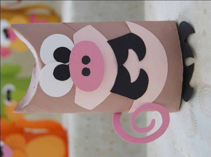 Toilet Tube Animals - CreativeMeInspiredYou.com