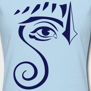 Swirl Eye (T-shirt Femme American Apparel) | Impression sur Tee Shirt