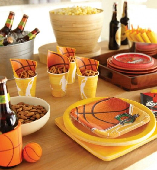 36 best march madness basketball food parties images on for Basketball craft party ideas