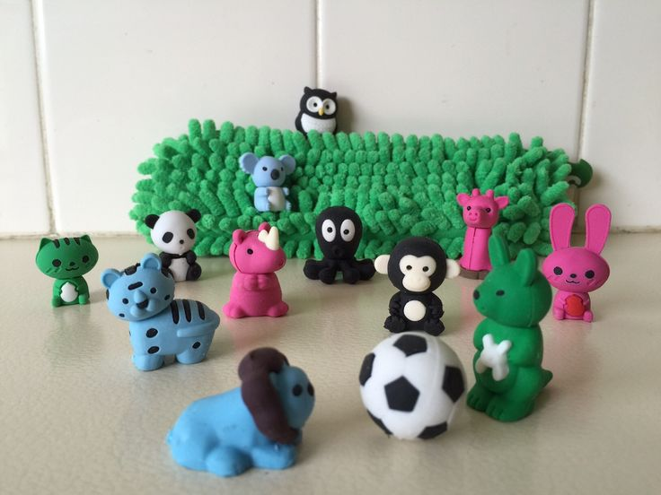 The animals are loose in the Zoo! Scented Erasers www.tinc.net.au