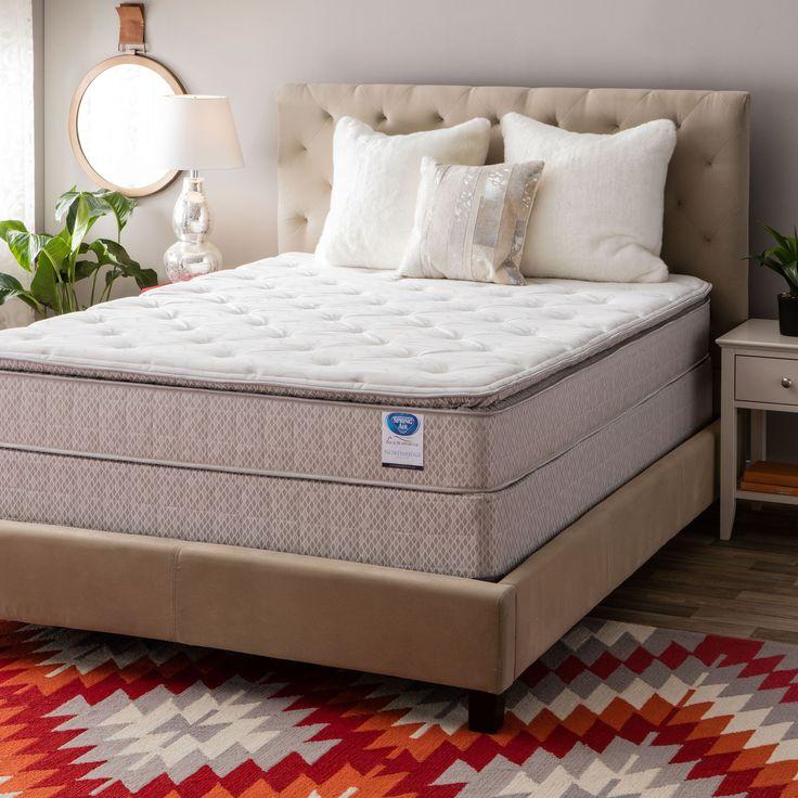 Spring Air Value Collection Northridge Queen Size Pillow Top Set