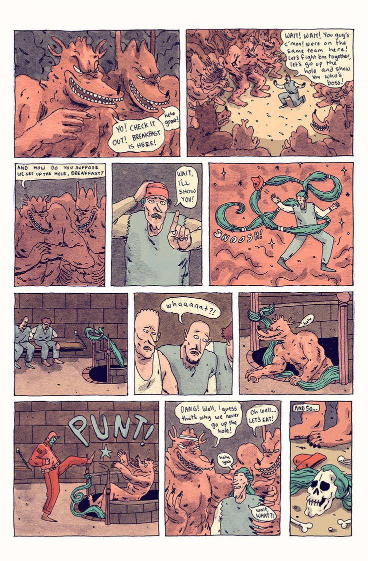 Meanwhile... 02 - Wren McDonald Illustration