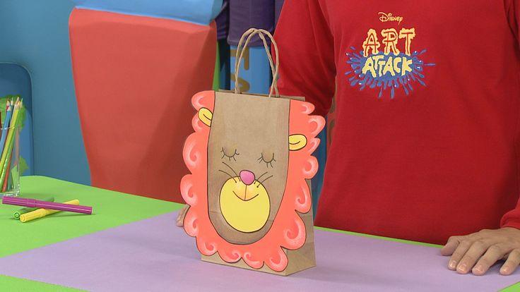 """Manualidad de """"Art Attack"""" para hacer una bolsa sorpresa. En la ..."""