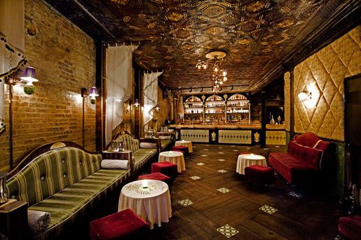 Apotheke - speakeasy style $$$ bar in chinatown 9 Doyers St near Bowery