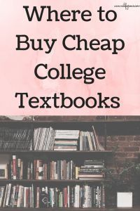 Where to Buy Cheap College Textbooks | aslifegrows.com | Bloglovin'