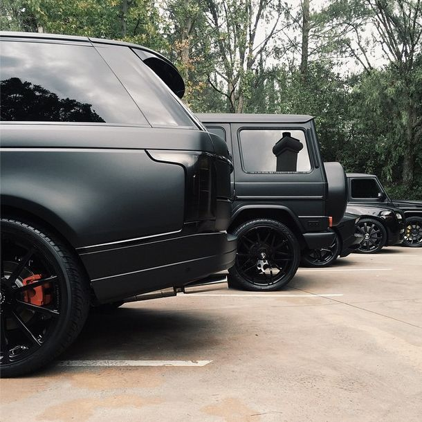 Range Rover Vogue , Mercedes Benz G