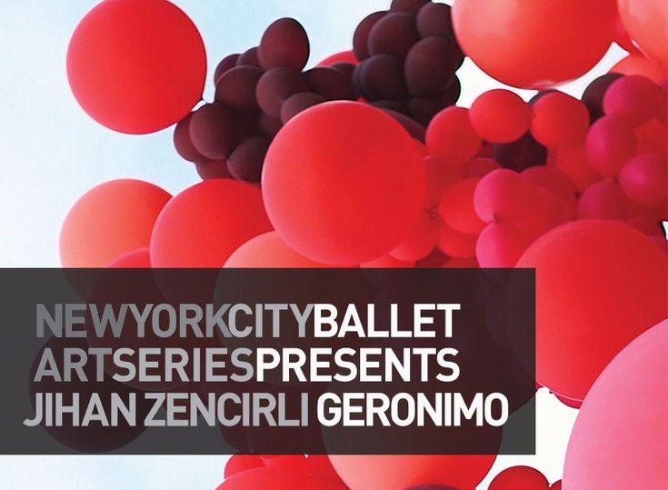 jihan zencirli geronimo inflates balloon installations for NYCB art series | Netfloor USA