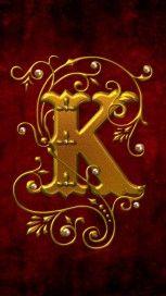 Letter K Letter K Wallpaper Illuminated Letters Pinterest