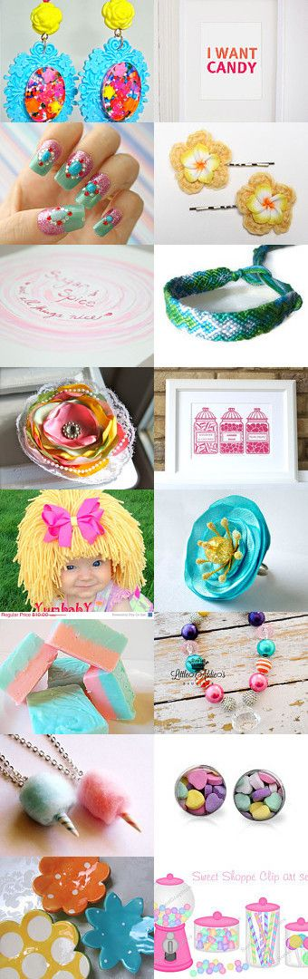 Candyland by Shelley Warnica on Etsy--Pinned with TreasuryPin.com
