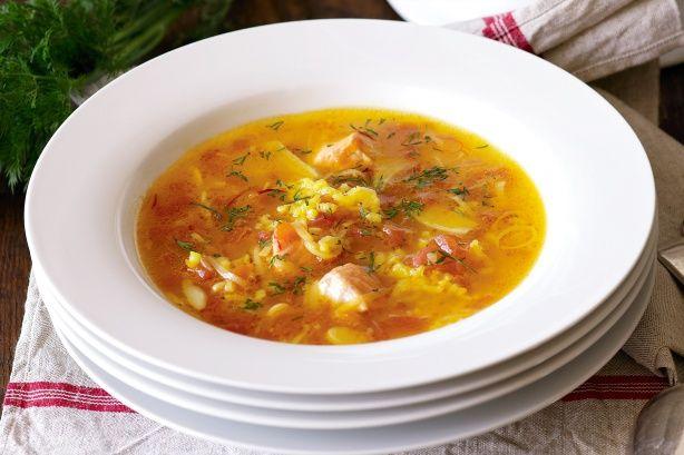 Fish soup with orange, saffron and dill recipe @recipesfornet
