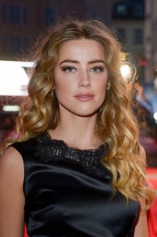Amber Heard à Londres le 11 octobre 2015