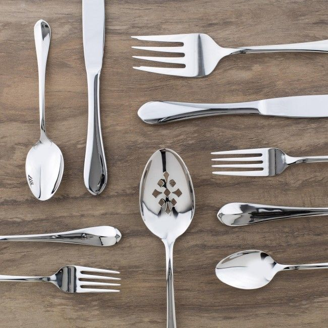 J.A Henckels Classic Collection combines timeless elegance with quality manufacturing. Constructed with 18/10 Stainless Steel, these cutlery pieces are dishwasher safe and will last for many years to come.