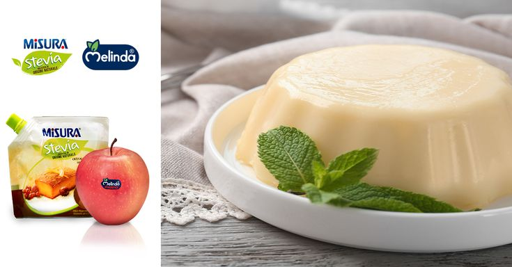 Semifreddo alla mela Evelina Melinda  #melinda #mela #apple #healthy #semifreddo #stevia #misurastevia