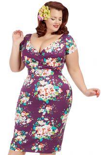 Lady Voluptuous   Dedicated to Plus Size Vintage Clothing