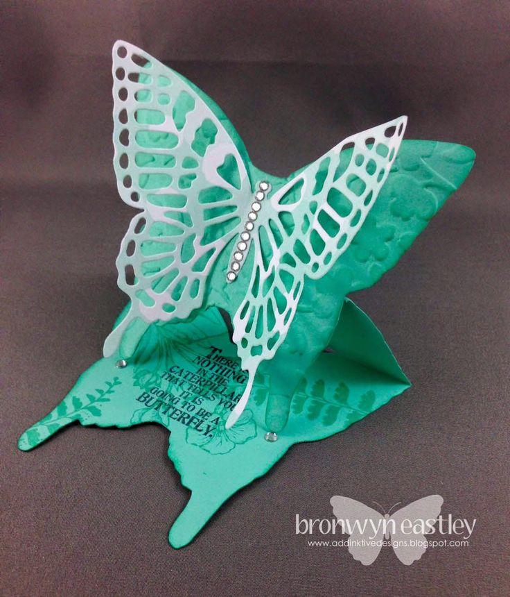 addINKtive designs: Butterfly Basics Easel Card