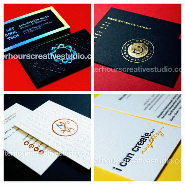 make a great first impression and get your business card noticed with spot uv business cards