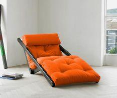 Fotoliu – Pat Figo Wenge Orange. Vezi http://decoratiuniinterioareonline.com/categorie/karup/?refid=pin
