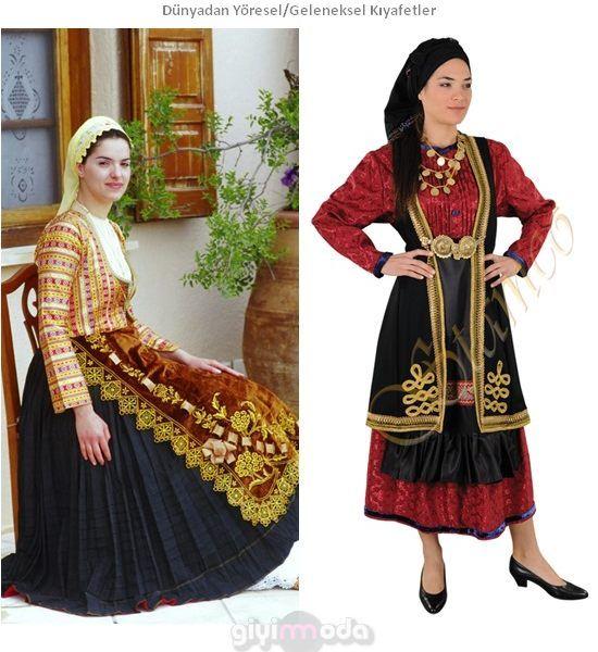 Yunan Geleneksel Kıyafetleri