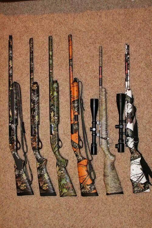 Camo guns, we have them www.kevinsguns.com