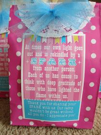 The Nogales Family: Girl's Camp gift...