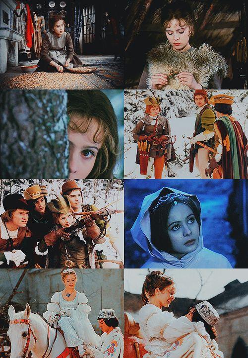 a list of favorite fairytale adaptations:Tři oříšky pro Popelku (Three Wishes for Cinderella), Czechoslovakia/East Germany, 1973