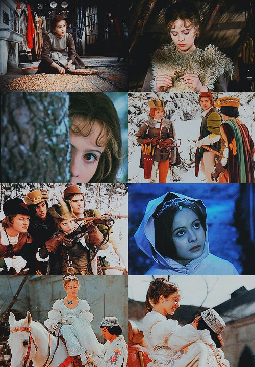 a list of favorite fairytale adaptations:Tři oříšky pro Popelku(Three Wishes for Cinderella), Czechoslovakia/East Germany, 1973