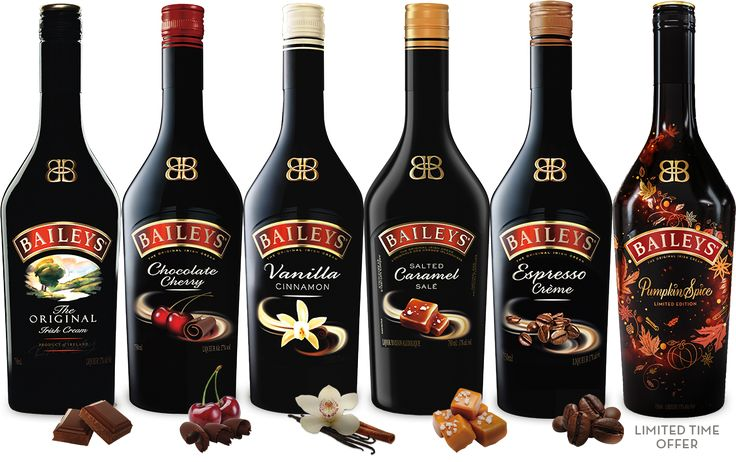 Discover the premium quality of Baileys Original Irish Cream. Learn more about our history, find delicious drink recipes like Baileys over Ice Cream and explore the many tempting flavors.