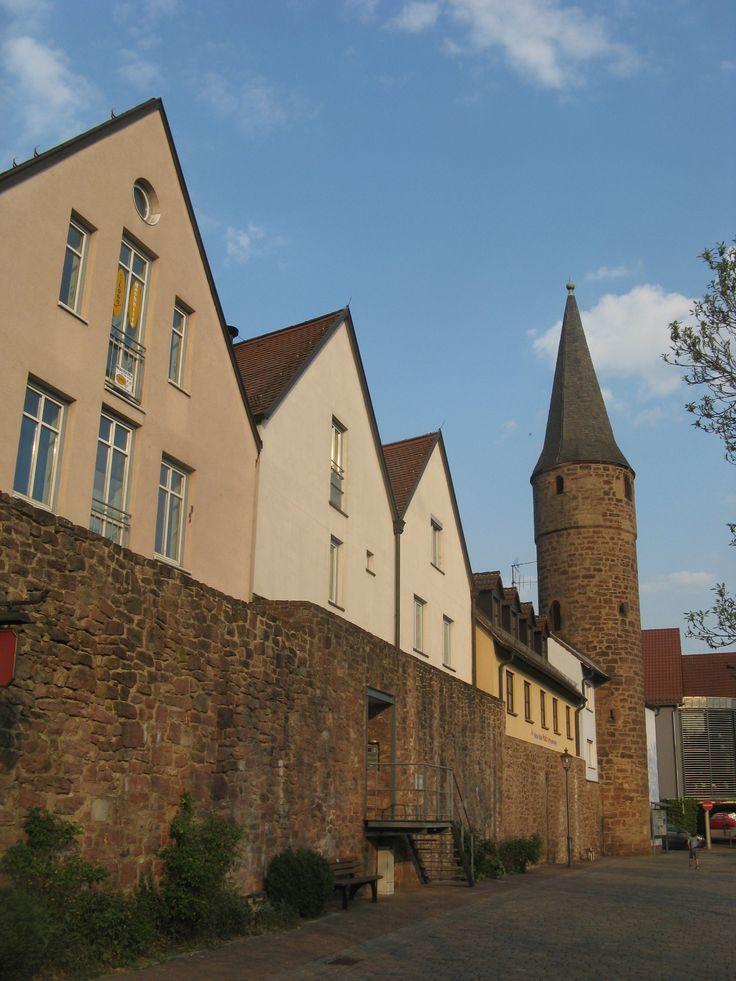 Gem nden main berbaute stadtmauer mit hexenturm alte st dte pinterest stadt und alter - Landschaftsarchitekten koln ...