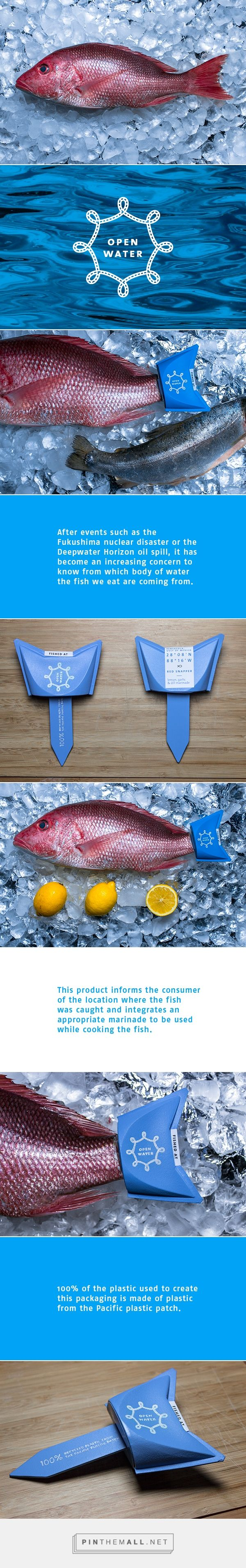 Open Water on Behance by Jeremy Pilote Byrne curated by Packaging Diva. Cool idea for repurposed plastic packaging.