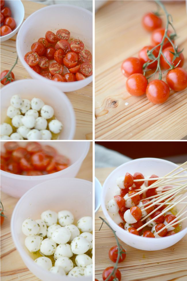 caprese pops....... i dont like tomatoes but these are so cute!