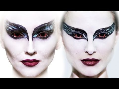 1. Black Swan A classic ever since Natalie Portman burst onto our screens as the titular tortured ballerina, this look is probably one of the most-wanted Hallowe'en styles of recent years. Best Halloween Beauty Tutorials Looks   Makeup   Grazia Daily