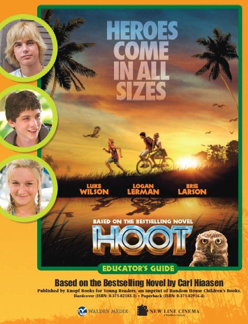 Free 16 page Hoot Educator's Guide