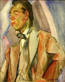 Anita Malfatti (1889-1964) - Japanese(1916) - Oil on Canvas.