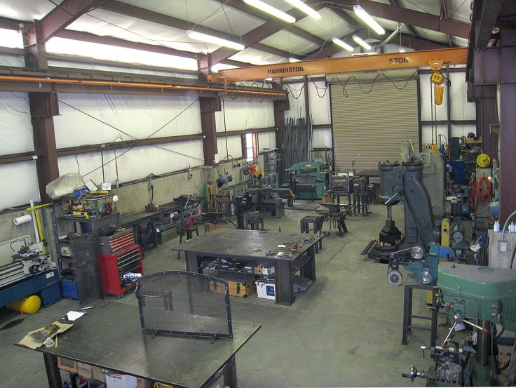 385 best machine shop images on pinterest workshop for Shop hoist plans
