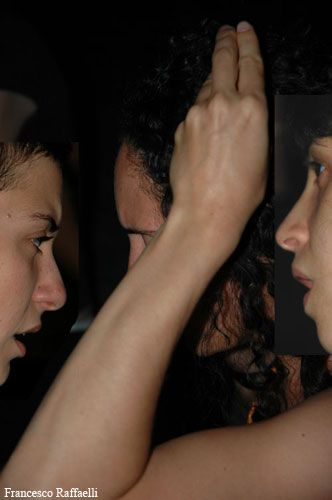 """""""Madrigale appena narrabile"""" by Chiara Guidi / Scott Gibbons / Socìetas Raffaello Sanzio. #Theatre #Music. VIE Scena Contemporanea Festival 2007"""