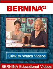 Helpful ways to use your sewing machine.  Nina McVeigh and guests are fabulous and so helpful