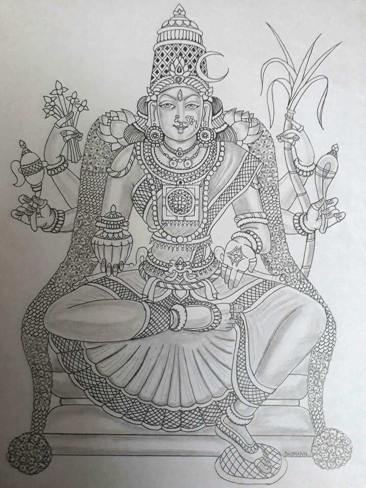 Pin by Viji Chidam on Art Sketches in 2019 Indian