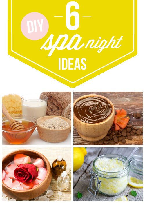 Want a simple way to pamper yourself at home? Get your relaxation on and relieve your stress with these 6 DIY Spa Night Ideas! AD