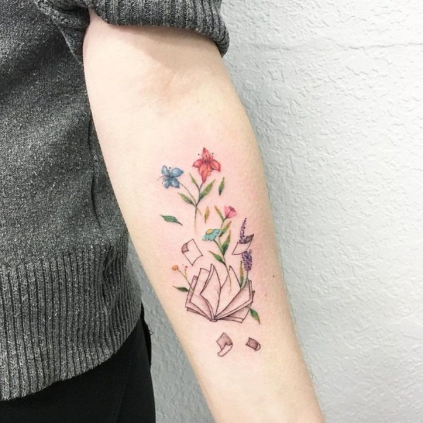 The Sprouting Plants Tattoo. The Sprouting plants tattoo from the book is the one that needs a shot.