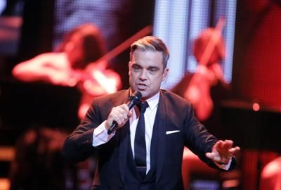"""Let Me Entertain You Tour"" di Robbie Williams  live @ Lucca Summer Festival"