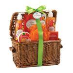 Mandarin Spa Basket, Brown