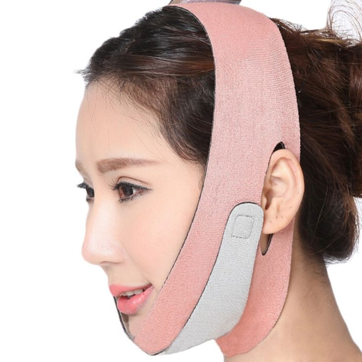 Face Lift Up Belt Health Care Thin Face Mask Slimming Facial Shaper Masseter Relaxation Bandage Belt Massage Reduc Slimmer Face Double Chin Slimmer Double Chin