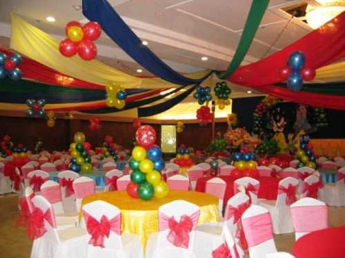 Party Ideas | Here are some table decorating ideas for birthday parties: