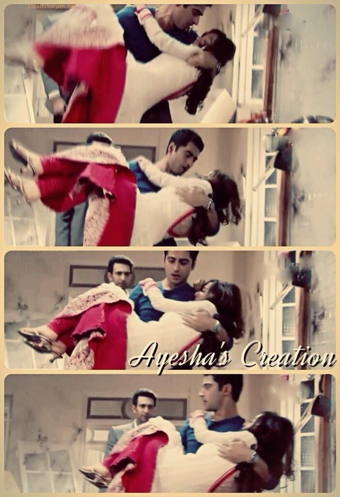 Just Zain Hold her Malika very well