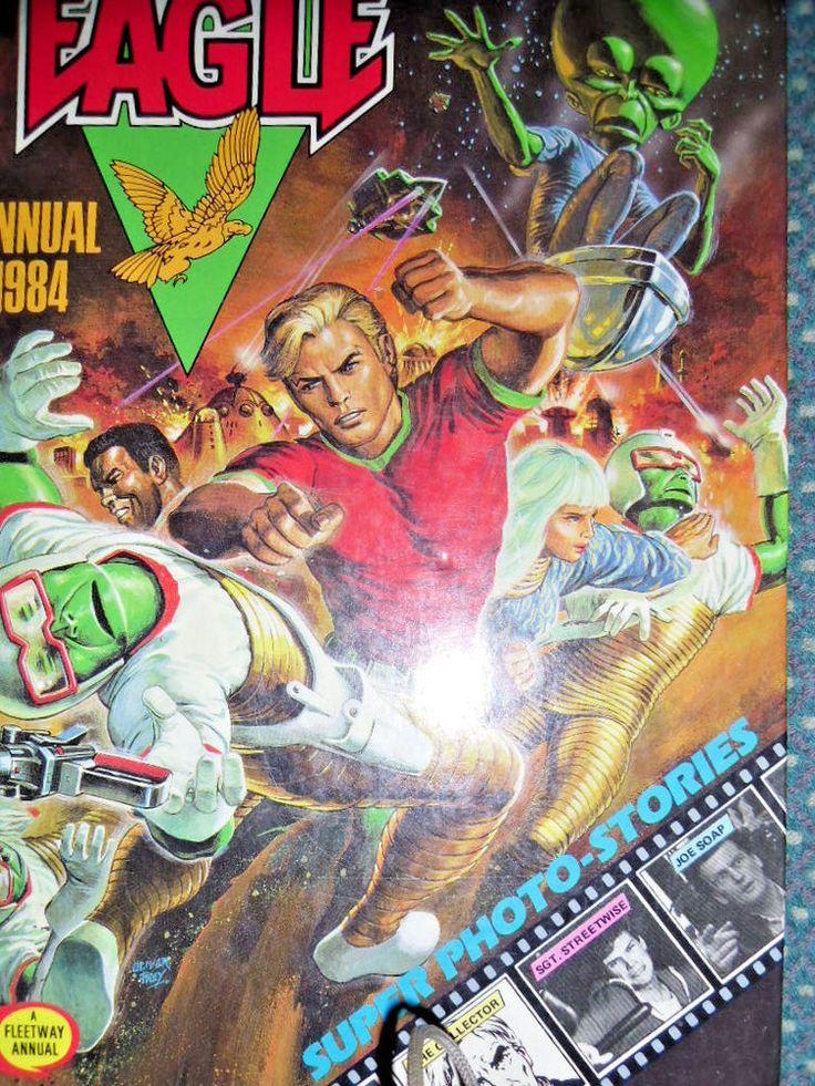 Eagle Annual 1984- Used Good condition