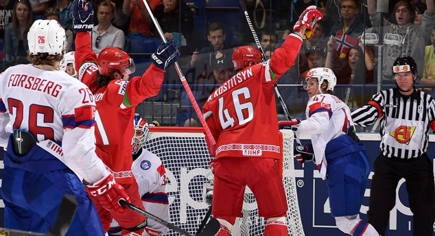 IIHF Ice Hockey World Championship 2015: Belarus outlasts Norway, prepares for Canada. Read more @ http://www.allymon.com