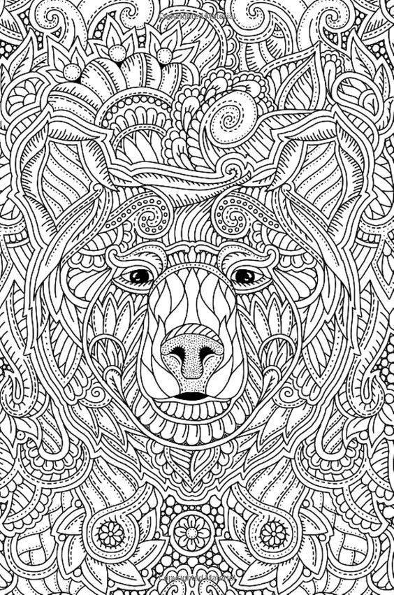 Pin On Coloring Bear