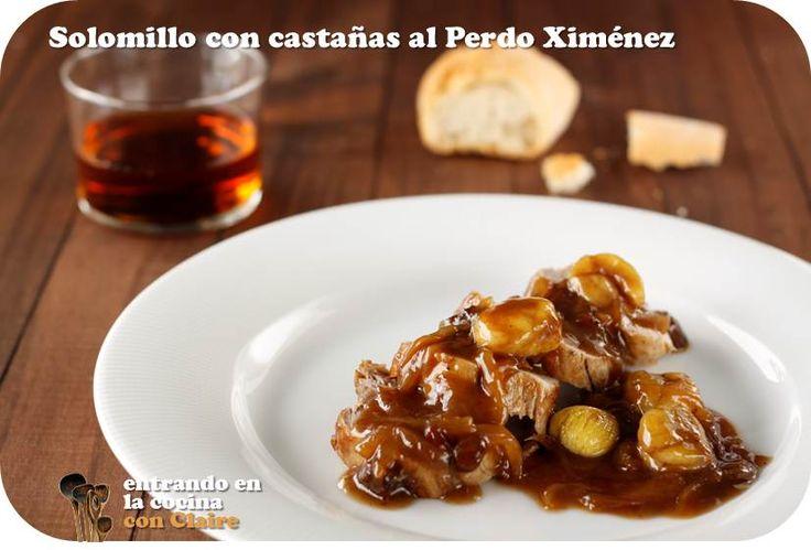 SOLOMILLO CON CASTAÑAS AL PEDRO XIMENEZ