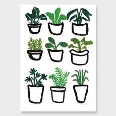 Gardener Plants Art Print by Wild Wagon