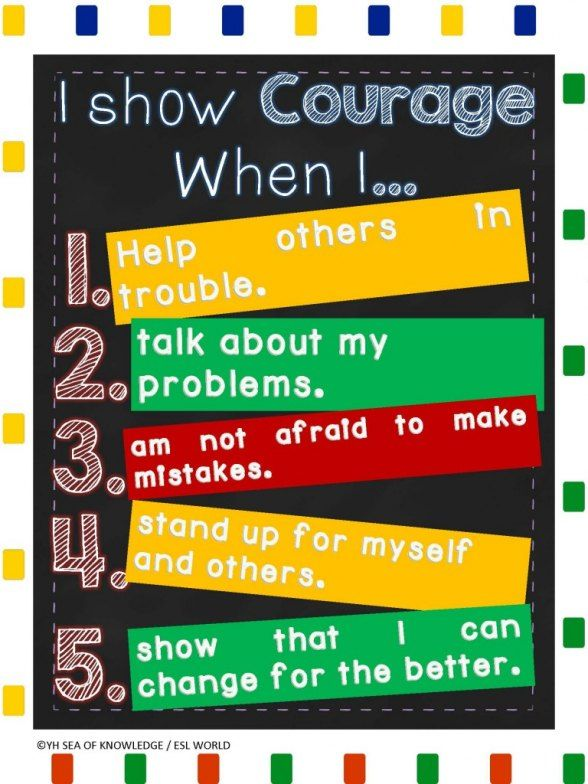 Teaching Social Skills free anchor chart download.